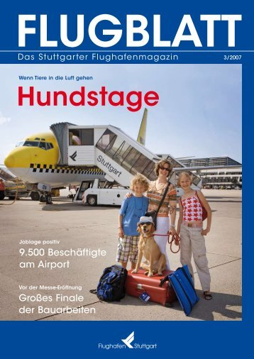 Service mit Persönlichkeit - Flughafen Stuttgart