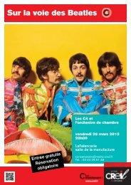 Sur la voie des Beatles - Ville de Creil