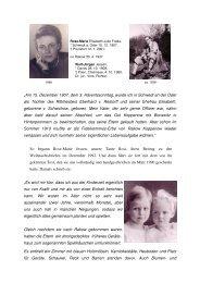 VITA - Verband der Familie v. Restorff