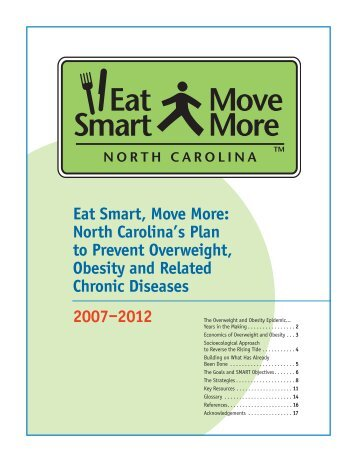North Carolina's Plan to Prevent Overweight, Obesity and Related ...