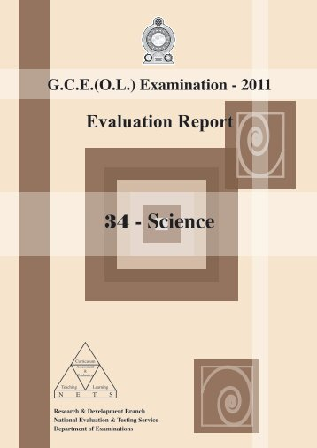 Download - Department of Examinations - Sri Lanka