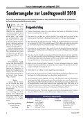 Sonderausgabe zur Landtagswahl 2010 - FAHRGAST Steiermark - Seite 2