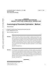 Cosmological Parameter Estimation: Method