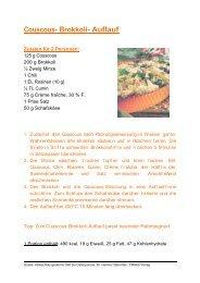 Couscous- Brokkoli- Auflauf