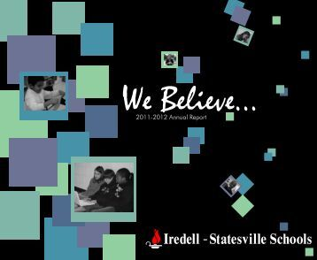 About Us - Iredell-Statesville Schools