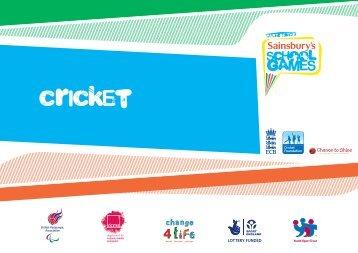 cricket - School Games