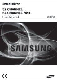 32 CHANNEL 64 CHANNEL NVR - Samsung CCTV