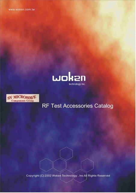RF Test Accessories Catalog