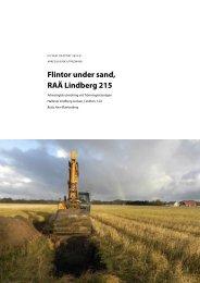 UV Väst Rapport 2010:21 - Riksantikvarieämbetet, avdelningen för ...