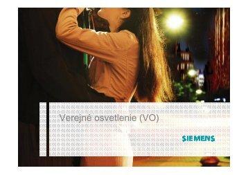 Projekty verejného osvetlenia realizované spoločnosťou ... - CEVO