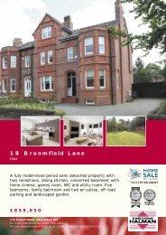 18 Broomfield Lane