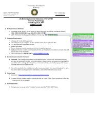 Orientation Document - Berkeley Summer Sessions - University of ...