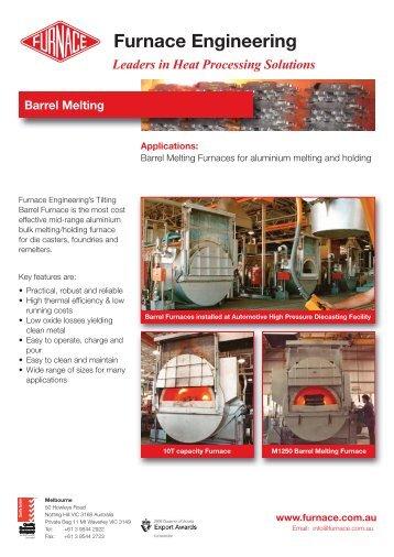 Barrel Melting Flyer Rev 0.indd - Furnace Engineering