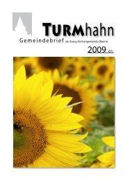 Turmhahn 2009-01 - Evangelischer Kirchenbezirk Gaildorf