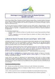 DP Voie Laurent Fignon - Tarbes-Infos
