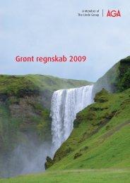 Grønt regnskab 2009 - AGA Danmark