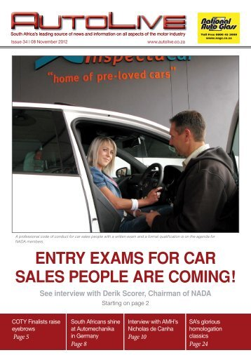 entry exams for car sales people are coming! - Autolive.co.za