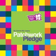 Patchwork Pledge Celebration Booklet - Inspire LeicesterShire