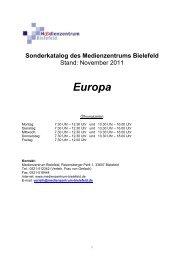 Europa - Medienzentrum Bielefeld