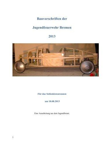 Bauvorschriften der Jugendfeuerwehr Bremen 2013