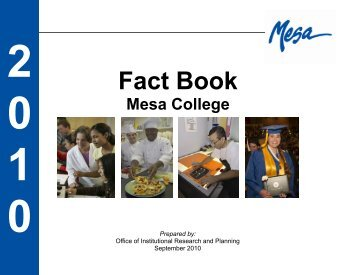 Mesa College - Institutional Research and Planning - San Diego ...