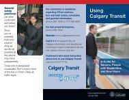 Transit Safety - Calgary Transit