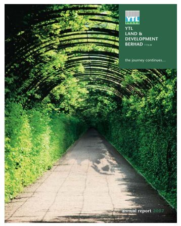 Annual Report 2007 - YTL Community