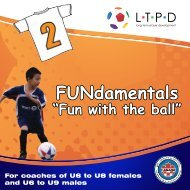 FUNdamentals Brochure - Ontario Soccer Association