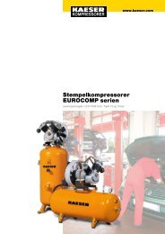Stempelkompressorer EUROCOMP serien - KAESER Kompressorer