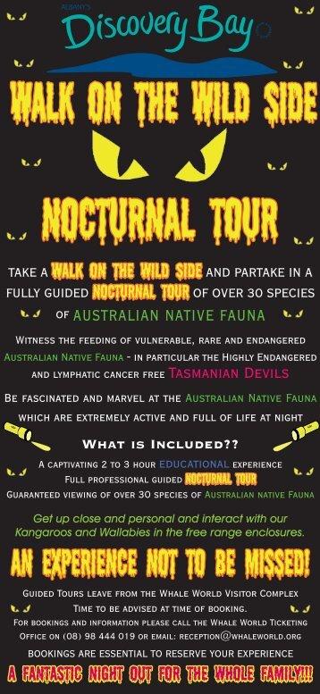 Nocturnal Tour