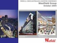 MERRILL LYNCH AUSTRALASIA INVESTOR ... - Westfield