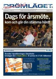 kom och gör din stämma hörd! - Apnéföreningen i Stockholm