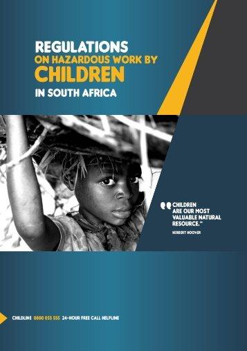 Regulations on hazardous work by children in South Africa.pdf