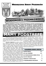 Wiadomości Przemkowskie numer 3/2008 - Przemków