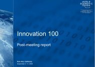 Innovation 100 - The World Economic Forum