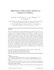 High-Order, Finite-Volume Methods in Mapped Coordinates