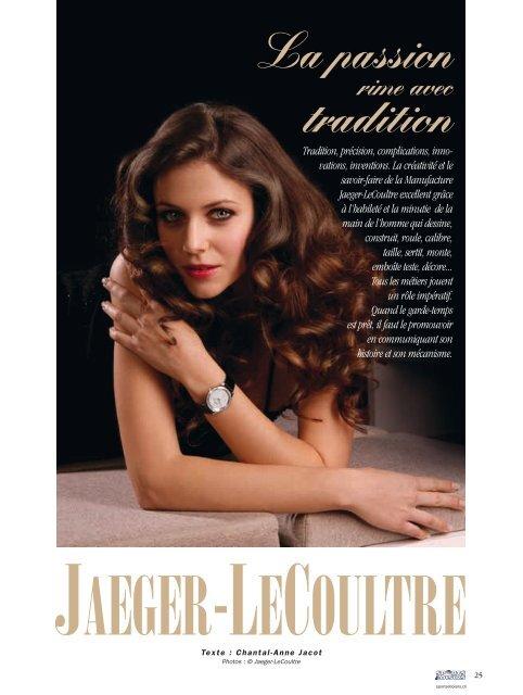 Jaeger-LeCoultre - Magazine Sports et Loisirs