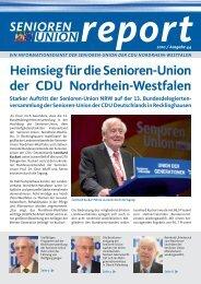 Die komplette Ausgabe Nr. 44 des Senioren-Union Reports können ...