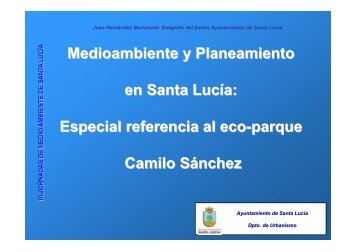 PONENCIA JORNADAS M.A.Juan Hernández - Plan Estrategico de ...