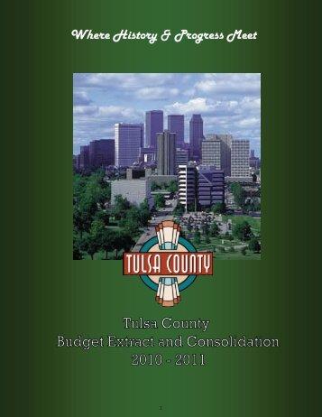 Where History & Progress Meet - Tulsa County