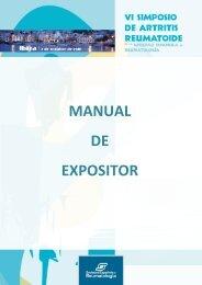 MANUAL DE EXPOSITOR - Sociedad Española de Reumatología