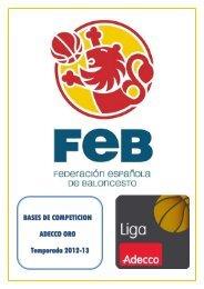 1.- organización y gestión de la competición - Federación Española ...