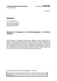 Antwort - Landesverband der Hebammen NRW