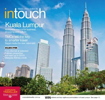 Corporate Traveller Intouch March 2013