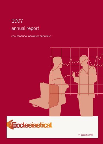 Ecclesiastical Insurance Group plc annual report and accounts