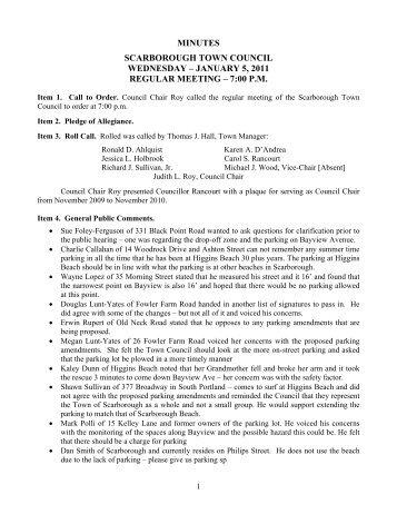 min_2011_01_05.pdf.0.. - Town of Scarborough