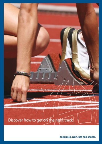 Discover how to get on the right track ... - ActionMEMBERS