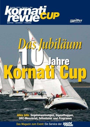 Alles Info. Segelanweisungen, Signalflaggen, ORC ... - Kornati Cup