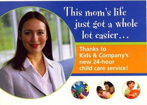 Kids & Company postcard