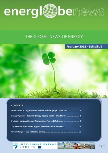 February 2012 – 5th ISSUE - enerea